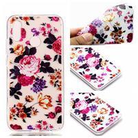 Printy gelový obal na Huawei P20 Lite - květy