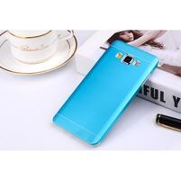 Modrý kovový kryt na Samsung Galaxy A3