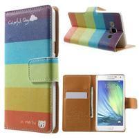 Peněženkové zapínací pouzdro na Samsung Galaxy A5 - barvy