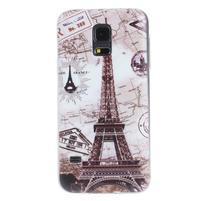 Ultra tenký gelový obal Samsung Galaxy S5 mini - Eiffel