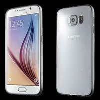 Ultra tenký obal na Samsung Galaxy S6 - transparentní