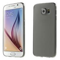 Ultra tenký obal na Samsung Galaxy S6 - šedý