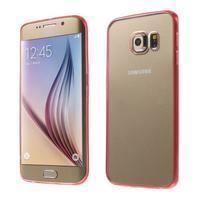 Rose hybridní gelový obal na Samsung Galaxy S6 Edge