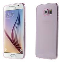 Ultra tenký obal na Samsung Galaxy S6 - rose