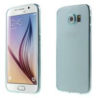 Ultra tenký obal na Samsung Galaxy S6 - světle modrý