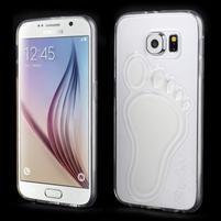 Protiskluzový gelový kryt na Samsung Galaxy S6 - transparentní