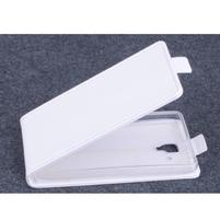 PU kožené flipové pouzdro na Lenovo A536 - bílé