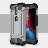 Armory odolný obal na mobil Lenovo G4 Plus a G4 - šedý