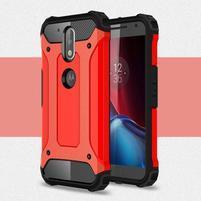 Armory odolný obal na mobil Lenovo G4 Plus a G4 - červený