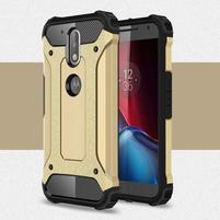 Armory odolný obal na mobil Lenovo G4 Plus a G4 - zlatý