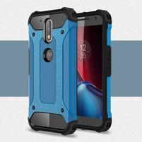 Armory odolný obal na mobil Lenovo G4 Plus a G4 - modrý