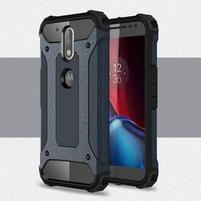 Armory odolný obal na mobil Lenovo G4 Plus a G4 - šedomodrý
