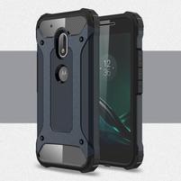 Armory odolný obal na mobil Lenovo Moto G4 Play - tmavěmodrý