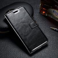 LuxSt PU kožené pouzdro na Lenovo Moto G4 Play - černé