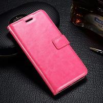 LuxSt PU kožené pouzdro na Lenovo Moto G4 Play - rose