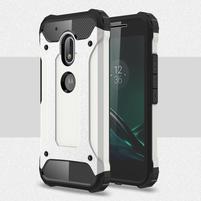 Armory odolný obal na mobil Lenovo Moto G4 Play - bílý