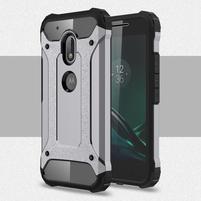Armory odolný obal na mobil Lenovo Moto G4 Play - šedý