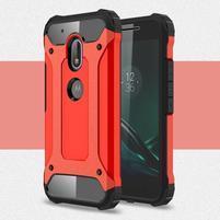 Armory odolný obal na mobil Lenovo Moto G4 Play - červený