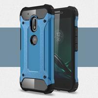 Armory odolný obal na mobil Lenovo Moto G4 Play - modrý