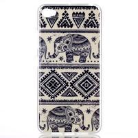 Glossy gelový obal na mobil Lenovo S90 - sloni