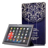 Polohovatelné pouzdro na tablet Lenovo Tab 2 A10-70 - vintage