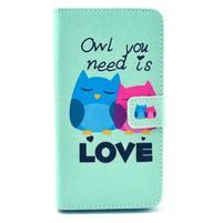 Obrázkové pouzdro na mobil LG G3 - soví láska
