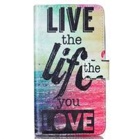 Motive pouzdro na mobil LG G3 - love