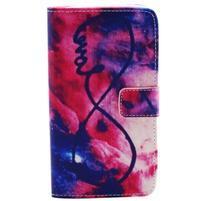 Obrázkové koženkové pouzdro na mobil LG G3 - nekonečná láska