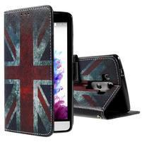 Motive koženkové pouzdro na LG G3 - UK vlajka