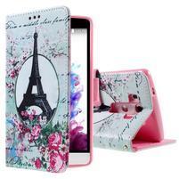 Motive koženkové pouzdro na LG G3 - Eiffelova věž