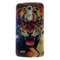 Gelový kryt na mobil LG G3 - tygr