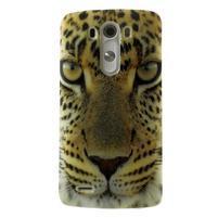 Gelový kryt na mobil LG G3 - leopard