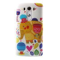Silks gelový obal na mobil LG G3 - slon