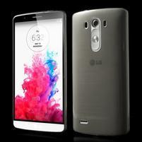 Ultratenký slim obal na mobil LG G3 - šedý