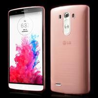 Ultratenký slim obal na mobil LG G3 - červený
