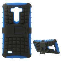 Outdoor odolný obal na mobil LG G3 - modrý