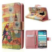 Zapínací peněženkové pouzdro pro LG G3 s - Big Ben