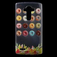 Softy gelový obal na mobil LG G4 - donuts