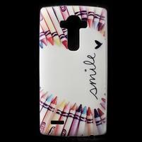 Softy gelový obal na mobil LG G4 - smile