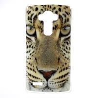Jells gelový obal na mobil LG G4 - leopard