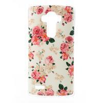 Jells gelový obal na mobil LG G4 - květiny