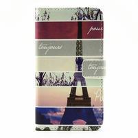 Pouzdro na mobil LG G5 - Eiffelova věž