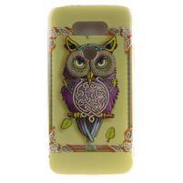 Softy gelový obal na mobil LG G5 - sova