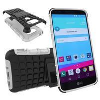 Outdoor odolný obal na mobil LG G5 - bílý