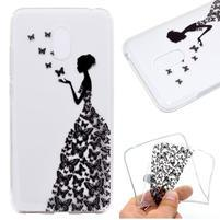 Patty gelový obal na Meizu M6 - motýlí lady