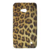 Gelový obal na Microsoft Lumia 640 - leopard
