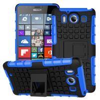 Outdoor odolný kryt na mobil Microsoft Lumia 950 - modrý