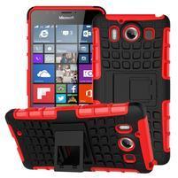 Outdoor odolný kryt na mobil Microsoft Lumia 950 - červený