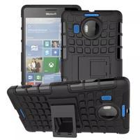 Odolný outdoor obal na mobil Microsoft Lumia 950 XL - černý