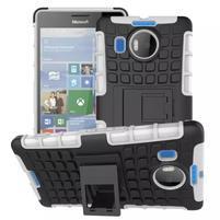 Odolný outdoor obal na mobil Microsoft Lumia 950 XL - bílý